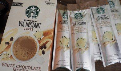 White Chocolate Mocha Via