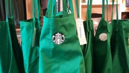 1 - 1 - 20151030_122419[1] child's sized green Starbucks apron