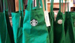 1 - 1 - 20151030_122419[1] child's sized green Starbucks apron