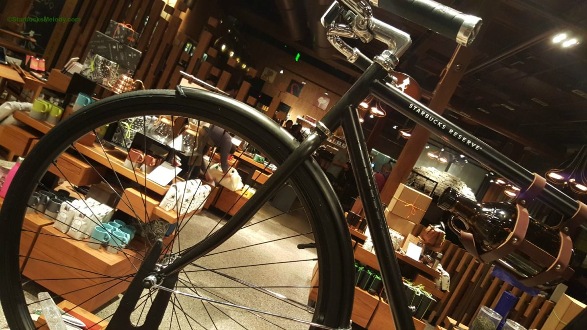 Starbucks Reserve Bicycle? Handpicked at the Roastery.