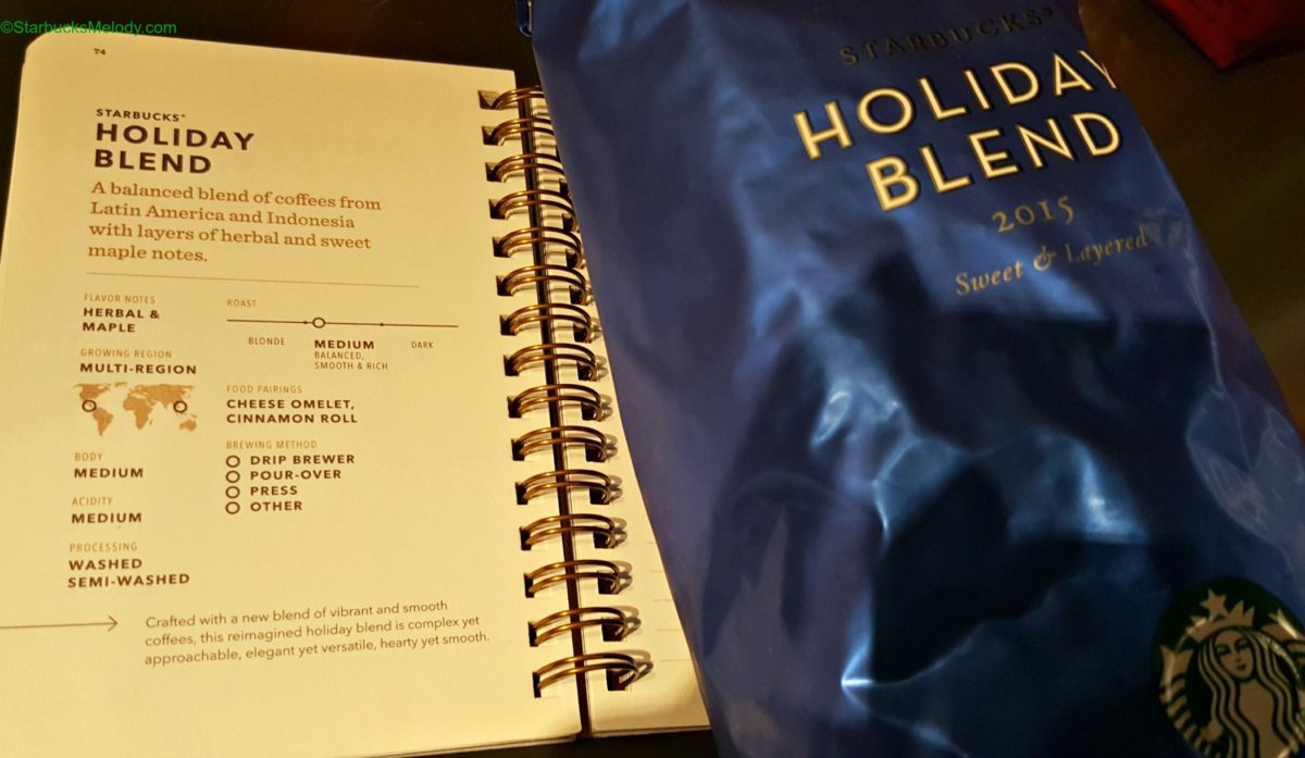Do you know what's NOT in Starbucks Holiday Blend?
