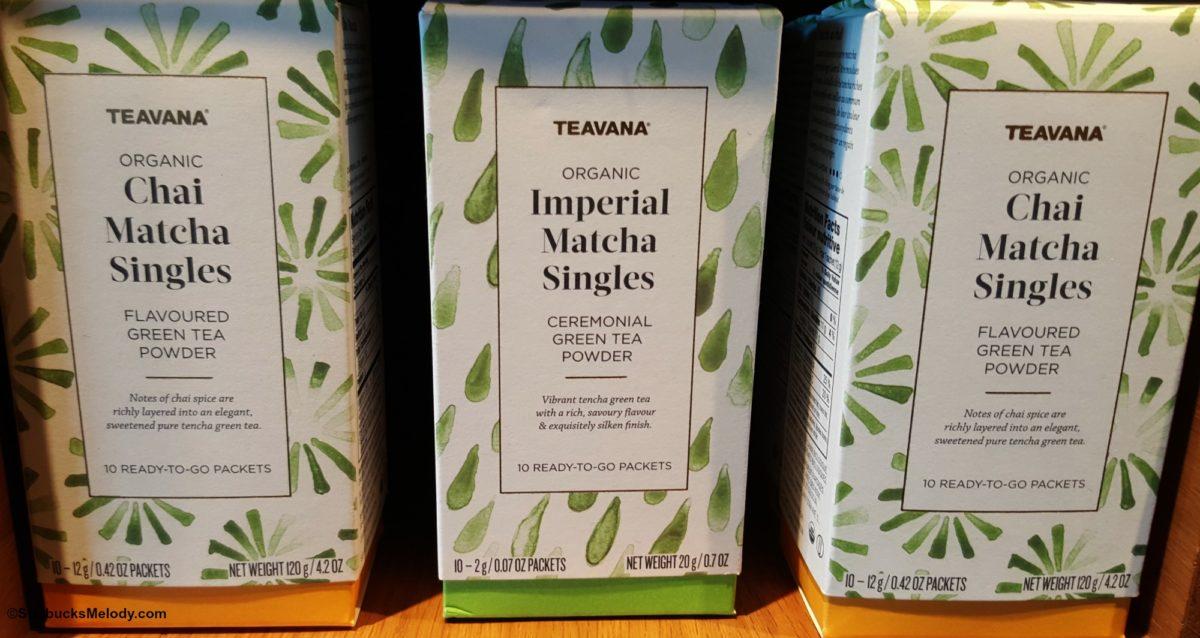Teavana Matcha Singles arrive at Teavana. (#TeavanaTuesdays)