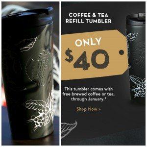 PicMonkey Collage Starbucks Refill Tumbler