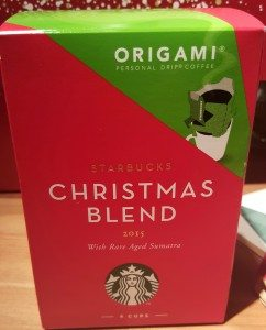 1 - 1 - 20151212_183232[1] box of origami coffee starbucks christmas blend