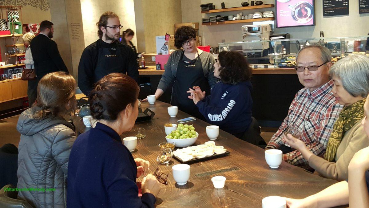 Floral Teas: Tea Tasting at University Village Teavana Tea Bar