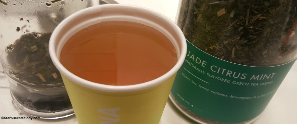 Mint-tea fun at Teavana!