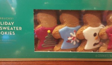 2 - 1 - 20151214_082507 holiday ugly sweater starbucks gingerbread man cookies