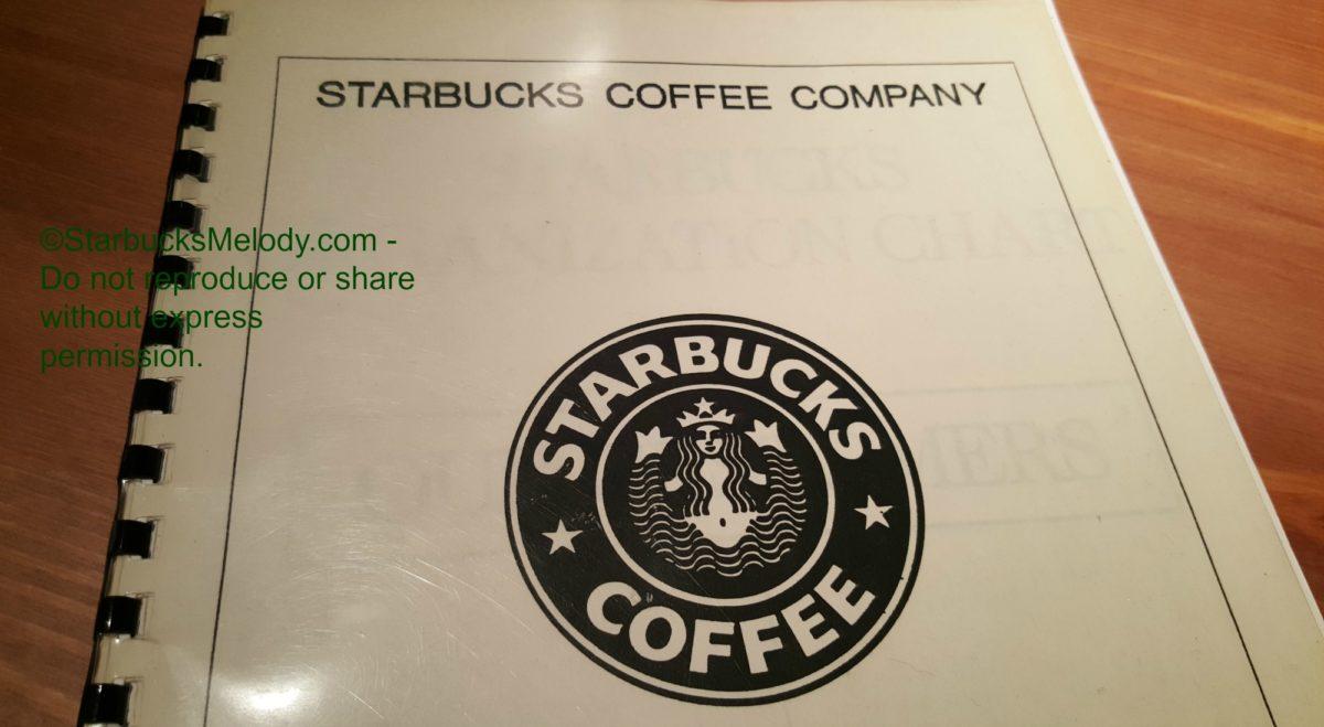 TBT Starbucks Training Booklet - 1989 - StarbucksMelody.com
