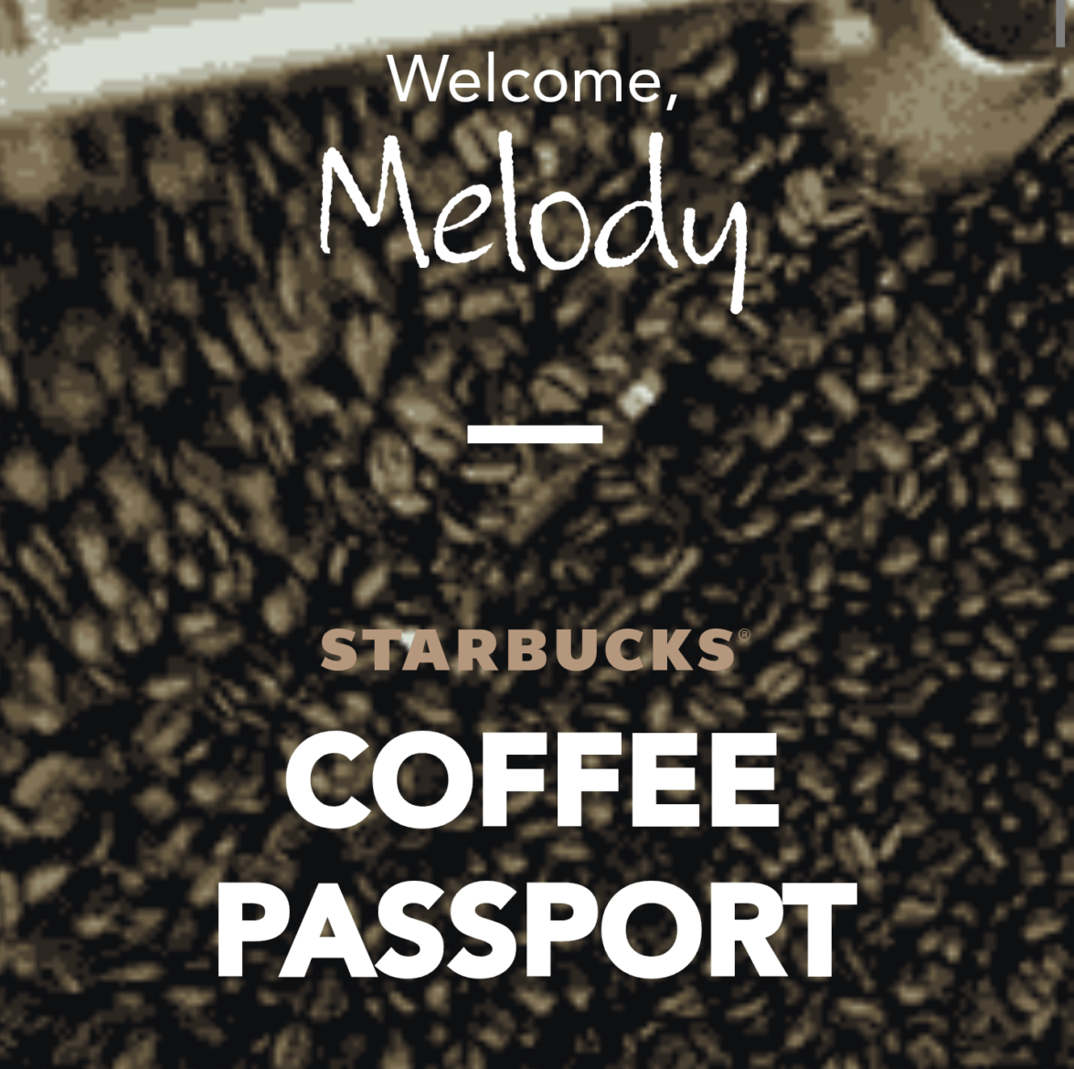 The Digital Starbucks Coffee Passport: For both customers & partners!