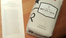 1 - 1 - 20160114_182709 nicaragua maracaturra january 2016 reserve subscription coffee starbucks