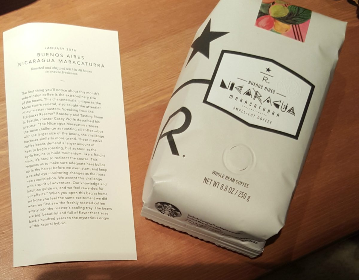 The New January Subscription Reserve Coffee is Here! Nicaragua Maracaturra.