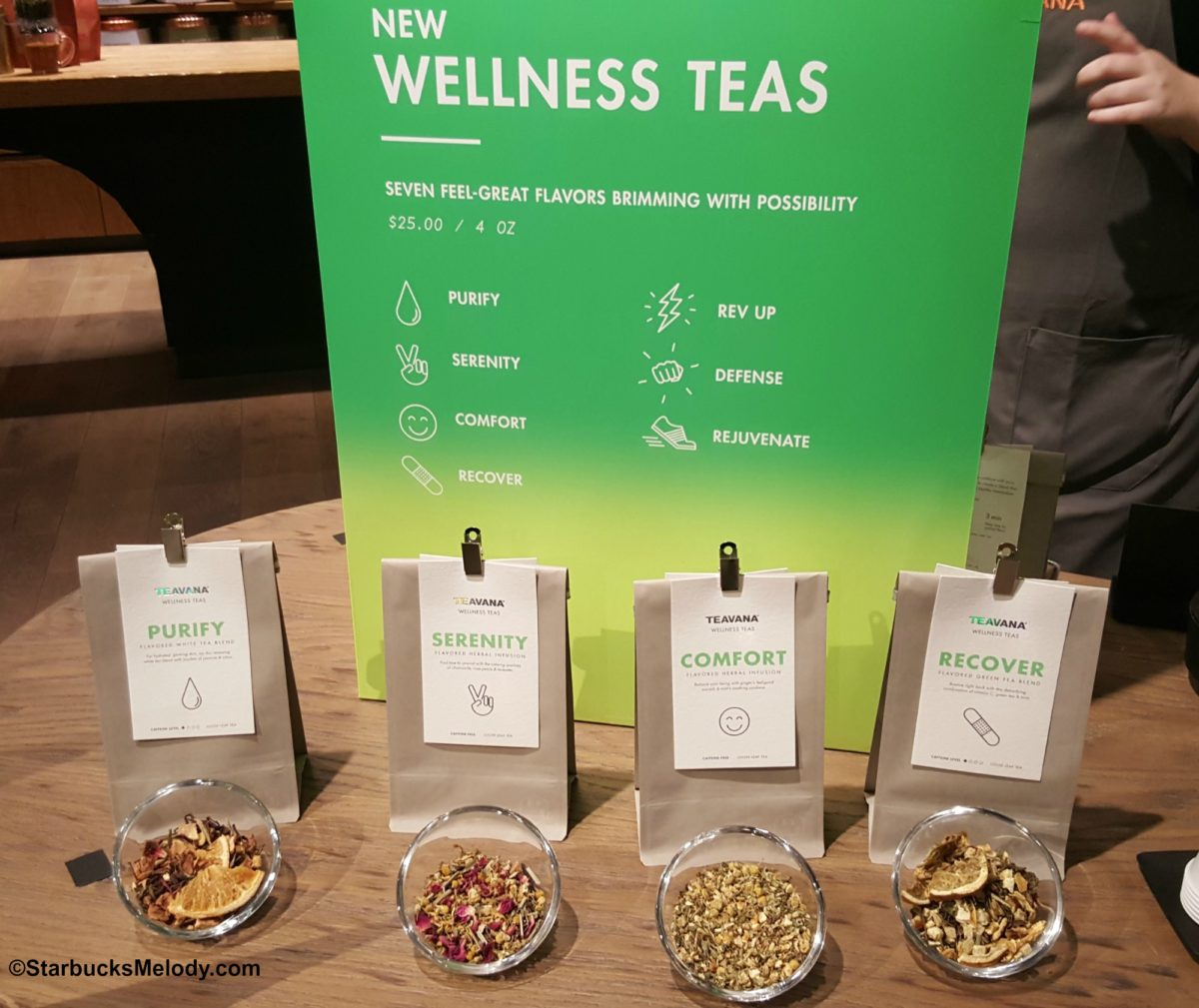 First Ever National Hot Tea Day: Celebrate with 7 all-new Wellness Teas from Teavana!