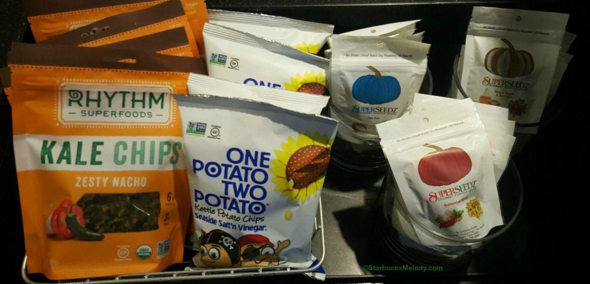 Have you tried the new snacks at Starbucks?