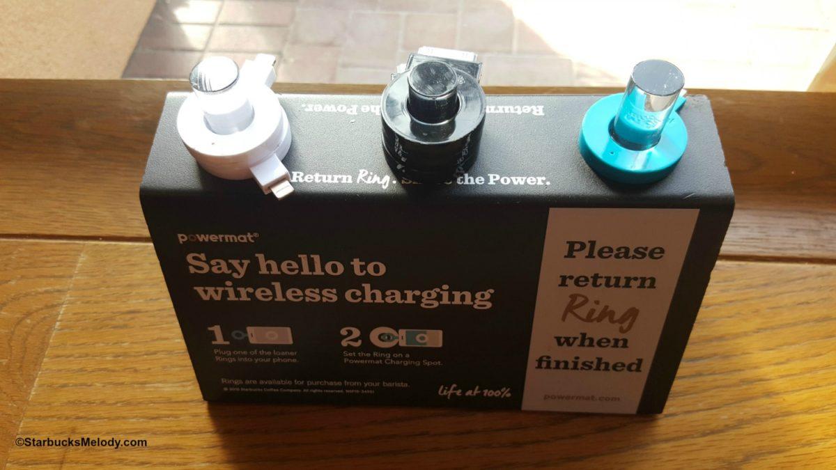 Starbucks Rolling out Powermat Wireless Charging Stations. (@powermat)