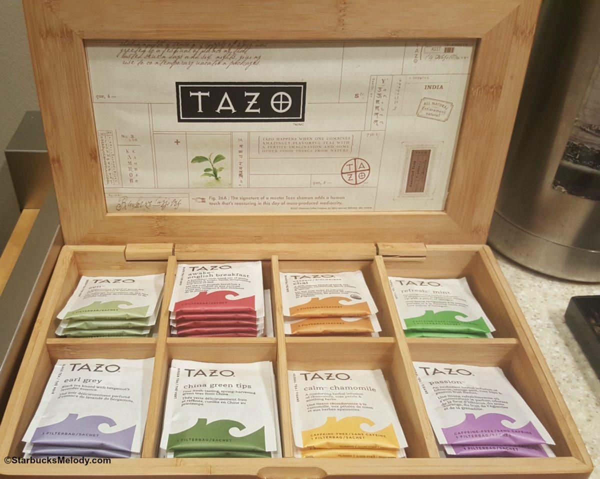 TBT - Tazo Tea - StarbucksMelody.com