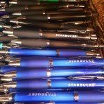 2 - 1 - 20160215_094847 pens at the Starbucks coffee gear store