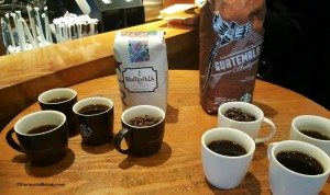 2 - 1 - 20160227_101045 side by side guatemala coffee tasting