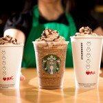 unspecified Starbucks Valentine's Day 2016 Molten Choc Latte Molten Hot Choc Frappuccino