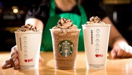 unspecified Starbucks Valentine's Day 2016 Molten Choc Latte Molten Hot Choc Frappuccino