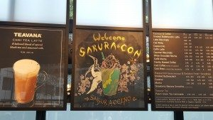 1 - 1 - 20160325_083417 - Sakura Con Frappuccino Signage
