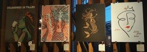 1 - 1 - 20160329_063949 - 4 posters for sale at the Roastery