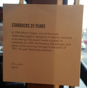 1 - 1 - 20160329_174629 small card for the 25 anniversary milton siren poster starbucks
