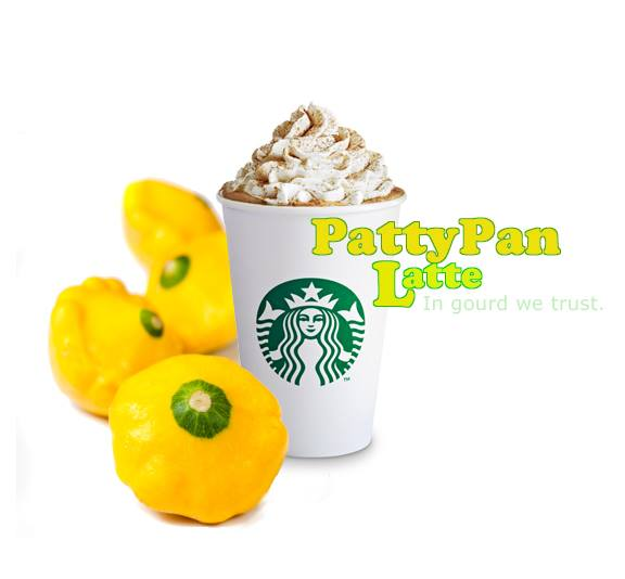 Say Hello to the Patty Pan Latte at Starbucks.