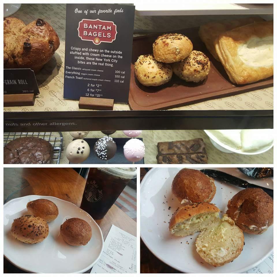 All new, mini bagel experience at 1500 Starbucks: Bantam Bagels.