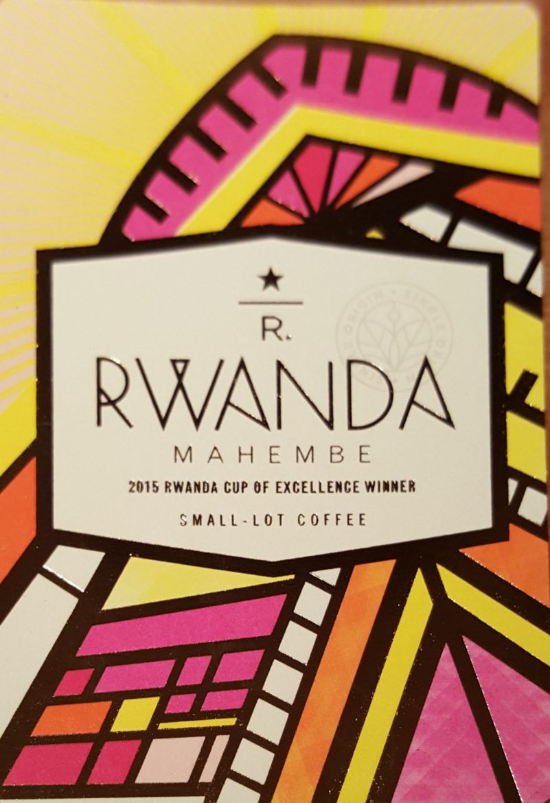 Starbucks now offering its 2nd ever Cup of Excellence coffee: Rwanda Mahembe