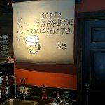 1 - 1 - 20160409_123829 Sign at Roy Street for the Iced Japanese Macchiato