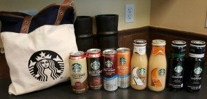 1 - 1 - 20160417_113344 all new CPG items Starbucks plus tote bag