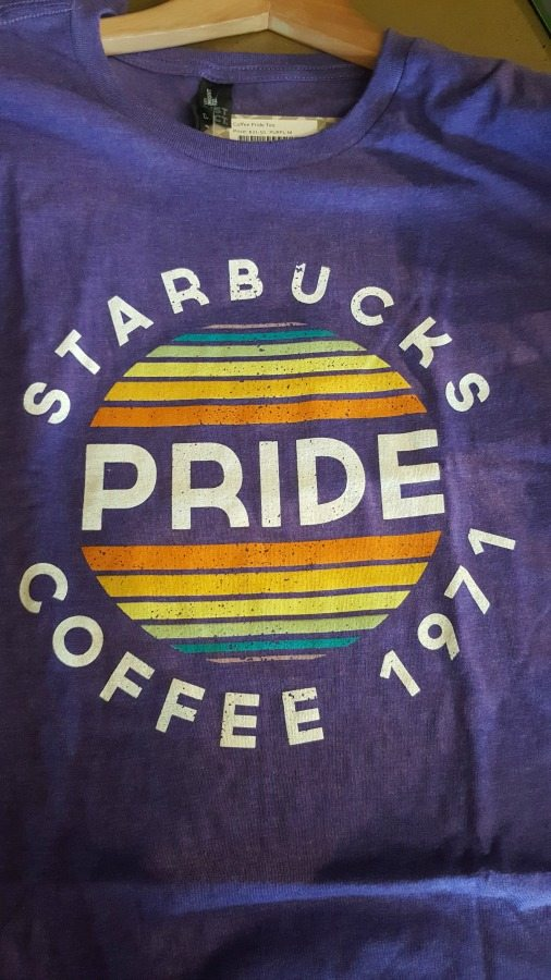 Must-have: Get your 2016 Starbucks Pride t-shirt. (Win this great shirt)