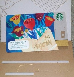 20160417_100333 2016 Mother's Day Card Starbucks Mothers Day