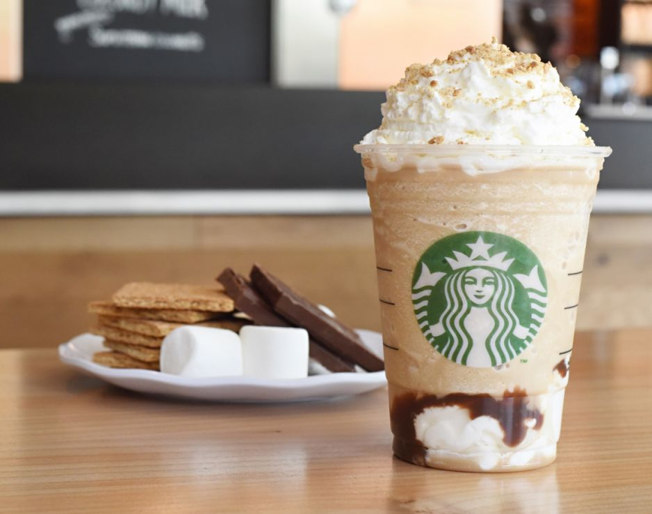 The S'mores Frappuccino is back!!