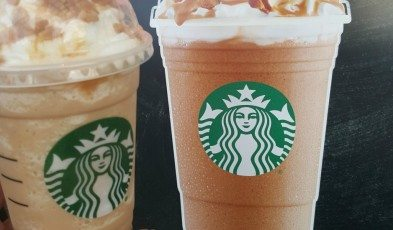 1 - 1 - 20160502_195303 new caramel waffle cone Frappuccino