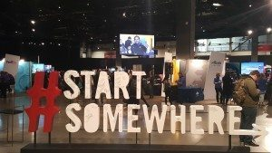 1 - 1 - 20160505_134330 Start Somewhere at the entrance of Opportunity Youth hiring event