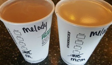 1 - 1 - 20160521_163123 milk chocolate mocha side by side with traditional mocha - Starbucks