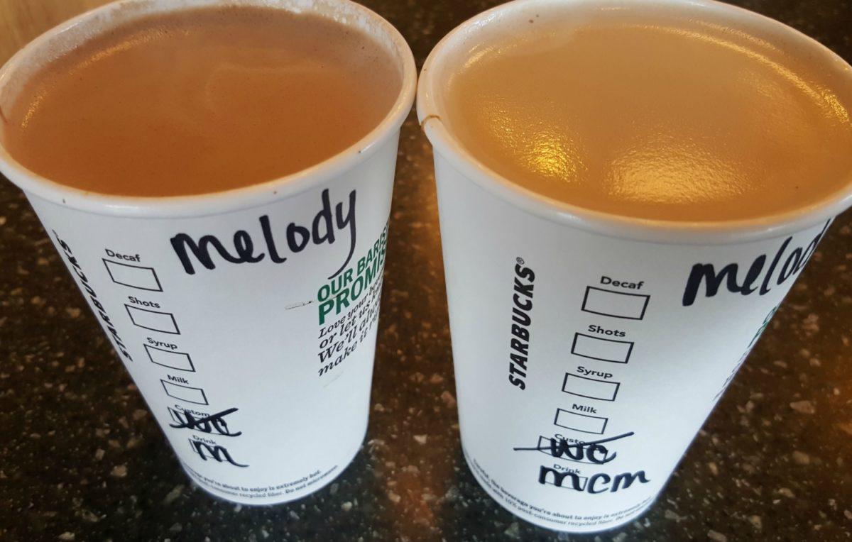 An all new kind of Starbucks mocha: Milk Chocolate Mocha
