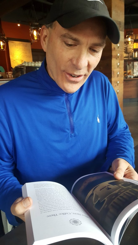 Spotlight on Starbucks Barista Larry Snyder: Book Author