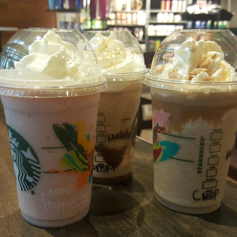 The Mini Frappuccino Comes Back to Starbucks in a Big Way.