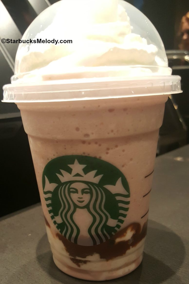 The Milk Chocolate-Dipped Strawberry Frappuccino and 6 other great Frappuccino ideas.