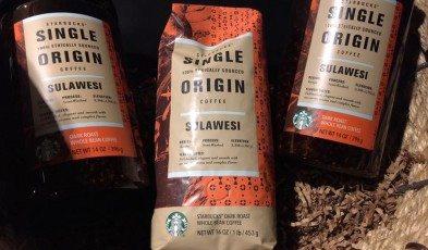 Sulawesi Coffee in big jars