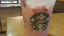 1 - 1 - 20160602_204719 strawberry acai with coconut milk at Starbucks Elliott DT store