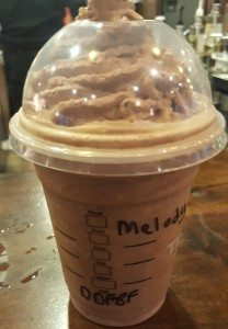 1 - 1- 20160611_052551 starbucks double double fudge bar Frappuccino