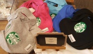 1 - 1 - 20160617_161857 starbucks baby bibs at the Coffee Gear Store