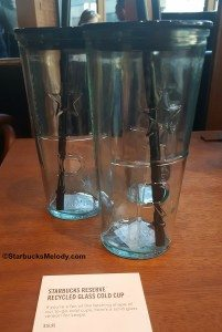 2 -1 - 20160620_192432 starbucks reserve roastery recycled glass cold cup