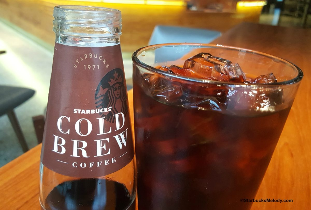 Cold Brew in a Bottle: Starbucks deliciousness