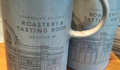 2 - 1 - IMG_20160620_132250 Roastery illustration mugs - Seattle Starbucks Reserve Roastery