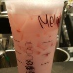 20160618_150836 the pink drink at Starbucks
