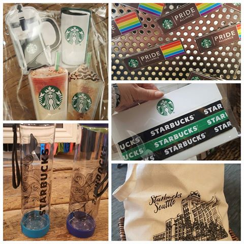 Starbucks PRIDE pins for your jacket or apron and much more: The Coffee Gear Store